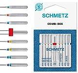 SCHMETZ Nähmaschinennadeln Set 4 Universal Nadeln...