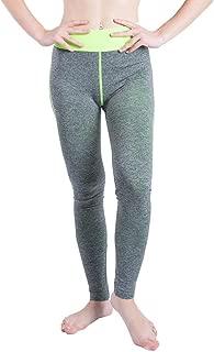 JOFOW Women's Leggings,Solid Skinny String Patchwork High Waist Tunic Elastic Stretch Sport Jogger Yoga Pants for Women
