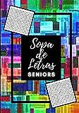 SOPA DE LETRAS SENIORS: Con el Sudoku y sopa de números   Letra grande   Discapacitados visuales   Fácil con soluciones