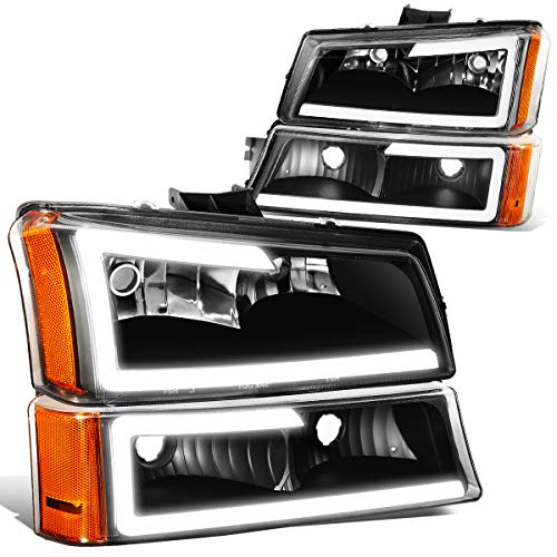 06 silverado black headlights - 8