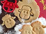 sps marketing Chinese New Year 2021 The Year of The Sheep Cookie Cutter for Kids bakeware Cookie Cutter Bone