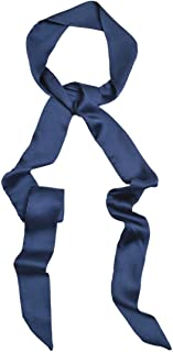 IvyFlair Long Skinny Tie Neck Scarf Choker - Different Colors