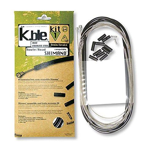 VARIOS - 25507/213 : Kit fundas cables sirgas siergas freno inox carretera...
