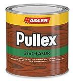 Adler Pullex Lasure 3 en 1 Palissandre 750 ml – Lasure imperméabilisante, apprêt et protection du bois pour l'extérieur – Lasure universelle pour bois