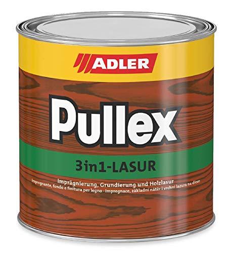 Finitura ADLER Pullex 3in1 Larice 750 ml - impregnante a finire, fondo e finitura per legno da esterno - Finitura universale per legno di alta qualità
