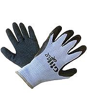 Gill Grip Handschoenen Carbon - Volwassenen Unisex - Lichtgewicht. Ademend - De latex handpalm en vingers bieden geweldige grip en duurzaamheid
