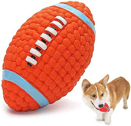 CNMYDZ Juguetes para Perros Resistentes A La Mordedura para Perros Medianos Medianos Cordones Seguros Masticar Juguetes Chupetes Fútbol Flotable Flotable