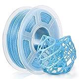 PLA Filament 1.75mm, PLA 3D Printer Filament Blue 1KG Spool, Diamensional Accurancy +/-0.02mm, PLA Twinkle Blue