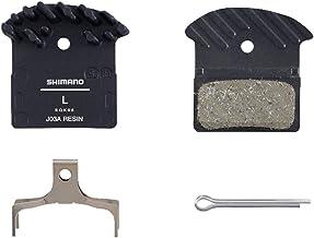 SHIMANO Unisex J03a remblokken voor volwassenen, zwart, 1 paar EU