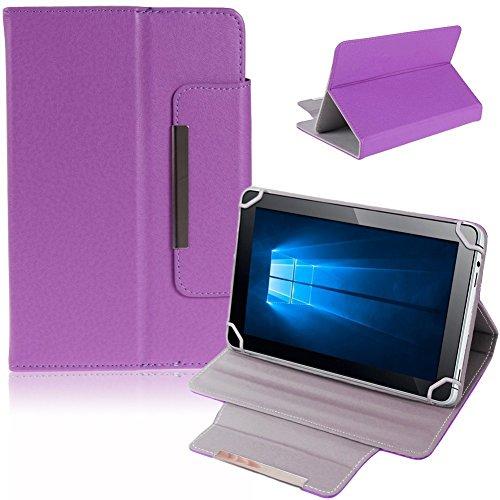 NAUC Tablet Tasche Hülle Schutzhülle für Captiva Pad 7 Case Schutz Cover Bag, Farben:Lila
