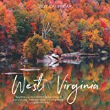 """West Virginia 2022 Calendar: 12-month Calendar - Square Small Gorgeous Calendar 8.5x8.5"""" for planners with large grid for note"""