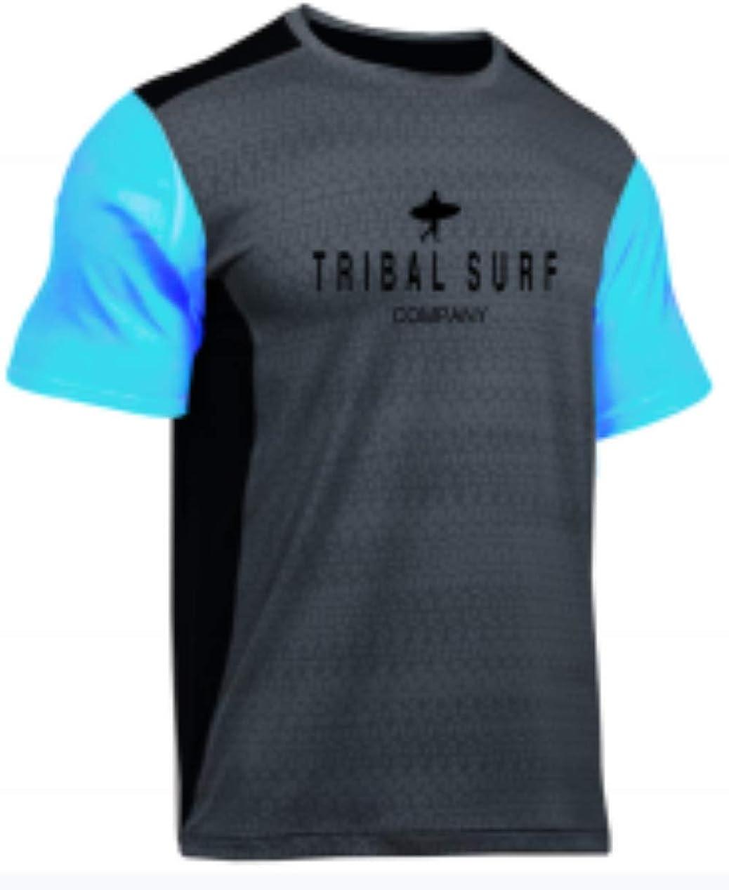 Tribal Surf Men's Rashguards Loose Fit (Choose Color & Size)
