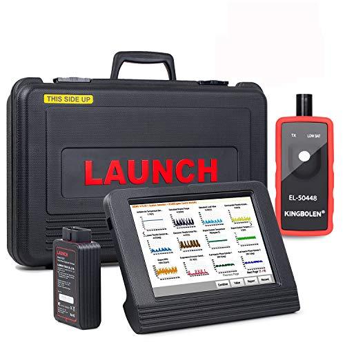 LAUNCH V (X431 Pro) 8 Pulgadas WiFi/Bluetooth Sistema Integral Diagnosis Multimarca Soporta Codificacion de Inyectores y Programacion de Llaves.