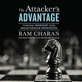 Attacker's Advantage audiobook cover art