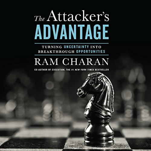 Attacker's Advantage audiobook cover art