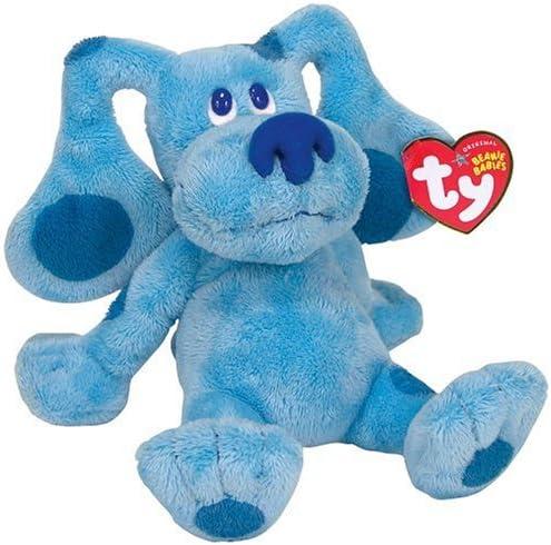 """5 /"""" Ty Beanie Freunde Blau BLUE/'S Clues 2006 Plüschtier Plüsch Spielzeug W Tag"""