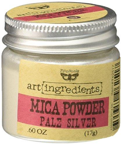 Prima Marketing finnabair Art Ingredientes Polvo de Mica 0,6oz-Silver
