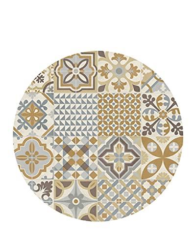 Vilber, Alfombra Vinilo Redonda. Toledo Color 04. Diámetro 78 cm