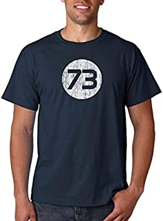 73 T-Shirt from Sheldon Cooper's Closet as seen on The Big Bang Theory