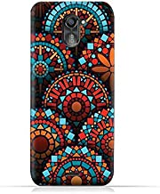 infinix Hot 4 Pro X556 TPU Silicone Protective Case with Geometrical Madalas Pattern