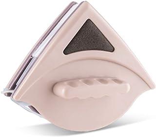 DERCLIVE Limpiacristales de Vidrio Magnético de Doble Cara Limpiaparabrisas para Vidrio de 15-24 Mm de Grosor Limpio sin Esquinas