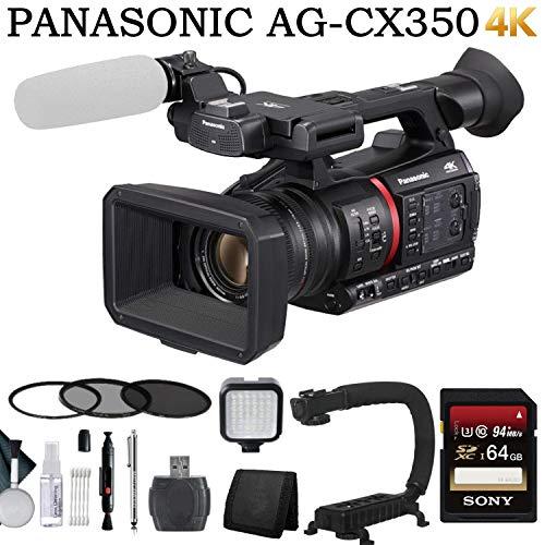 Purchase Panasonic AG-CX350 4K Camcorder Advanced Bundle