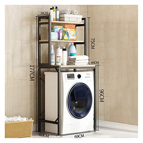 LXFDS Balkon wasmachine rek, vloer opslag plank toilet top locker drum pulsator flip badkamer