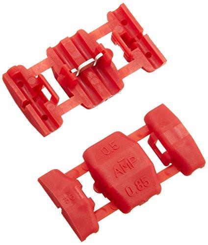 エーモン 配線コネクター(赤) DC12V80W以下/DC24V160W以下 E488