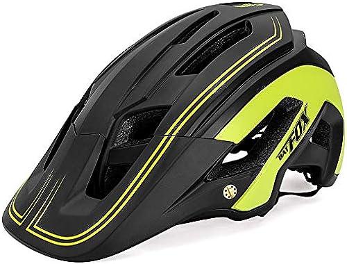 LGHSOEMN Fahrradhelm Neue Preiswerte Gesamtformung Fahrradhelm ultraleichten Road Helm BAT Fox DH AM hochwertiger MTB Fahrradhelm