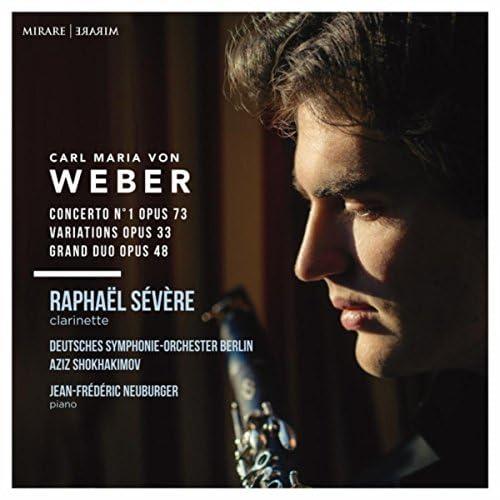 Raphaël Sévère, Deutsches Symphonie Orchester Berlin, Aziz Shokhakimov & Jean Frédéric Neuburger