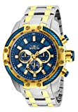 Invicta Men's Speedway Quartz Watch with Stainless Steel Strap, Two Tone, 26 (Model: 25947)