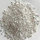 NLLeZ 100 g 4-6mm 7-9mm Natural Blanco Cristal de Cristal Cuarzo Cristal Rock Chips Cristal de...