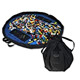 Lay-n-Go 2-in-1 Portable Drawstring Toys Storage Organizer and Play...