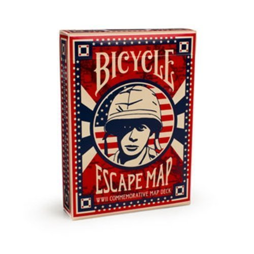 Bicycle Escape Map Playing Cards Athletics, Exercise, Workout, Sport, Fitness