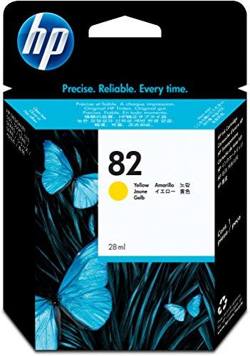 HP 82 Gelb Original Tintenpatrone, 28 ml