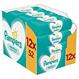 Pampers Sensitive Baby Wipes, 12 Packs (624 Wipes)