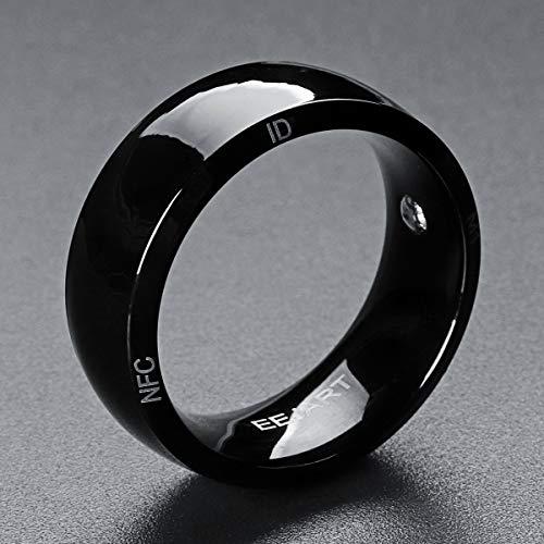 LZW NFC Dispositivo Indossabile Intelligente Motivazione Anello Intelligente Anello di Fitness Anello Sonno Anello Inseguitore Eco Maschile Anello Intelligente,8