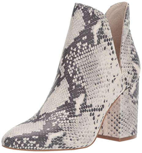 Steve Madden Women's Rookie Fashion Boot, Natural Snake, 7 M US