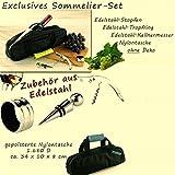 4-tlg. SO-TECH® Weinset Sommelier-Set - Dekantier-Set Weingarnitur