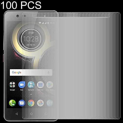 Zhangl Lenovo Tempered Film 100 PCS 0.26mm 9H 2.5D Tempered Glass Film for Lenovo K8 Plus Lenovo Tempered Film
