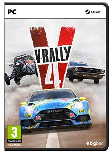 Bigben Interactive V-Rally 4 vídeo - Juego (PC, Racing, Modo multijugador, E (para todos), Soporte físico)