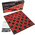 Kangaroo Checkers Board Game I Foldable Paper Checkers Board Game for Kids And Adults I Best Classic Board Game Set For Family & Friends I Portable Educational Travel Checkers