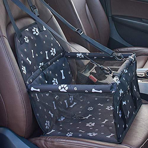 Gyj&mmm Haustier-Auto-Kindersitz für Hund Katze Tragbare und atmungsaktiv Tasche mit Sicherheitsgurt Dog Carrier Safety Stable für Reise, mit Sicherheitsleine