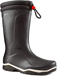Unisex Dunlop Blizzard Fleece Lined Insulated To -15c Wellington Boots Size 3-13
