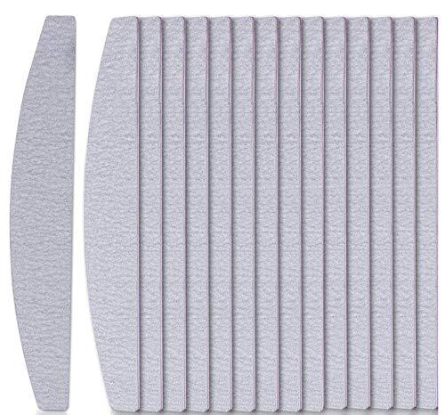 GeekerChip nagelfeilen für gelnägel(15 Stück),Nagelfeilen 100/180 Feilen Nägel-Doppelseitige Feilen,Nagellackkombination für Nagelstudio und Zuhause