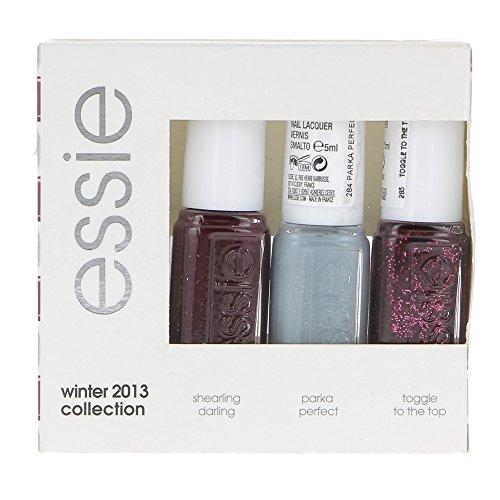 essie Winterset 2013, mini Nagellacke, 3er Pack (3 x 5 ml)