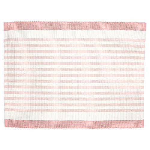 Greengate COTPLAAALS1906 Alice Tischset Streifen blass pink 45 x 35 cm