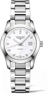 Longines Conquest Classic Automatic Mother of Pearl Dial Stainless Steel Ladies Watch L22854876