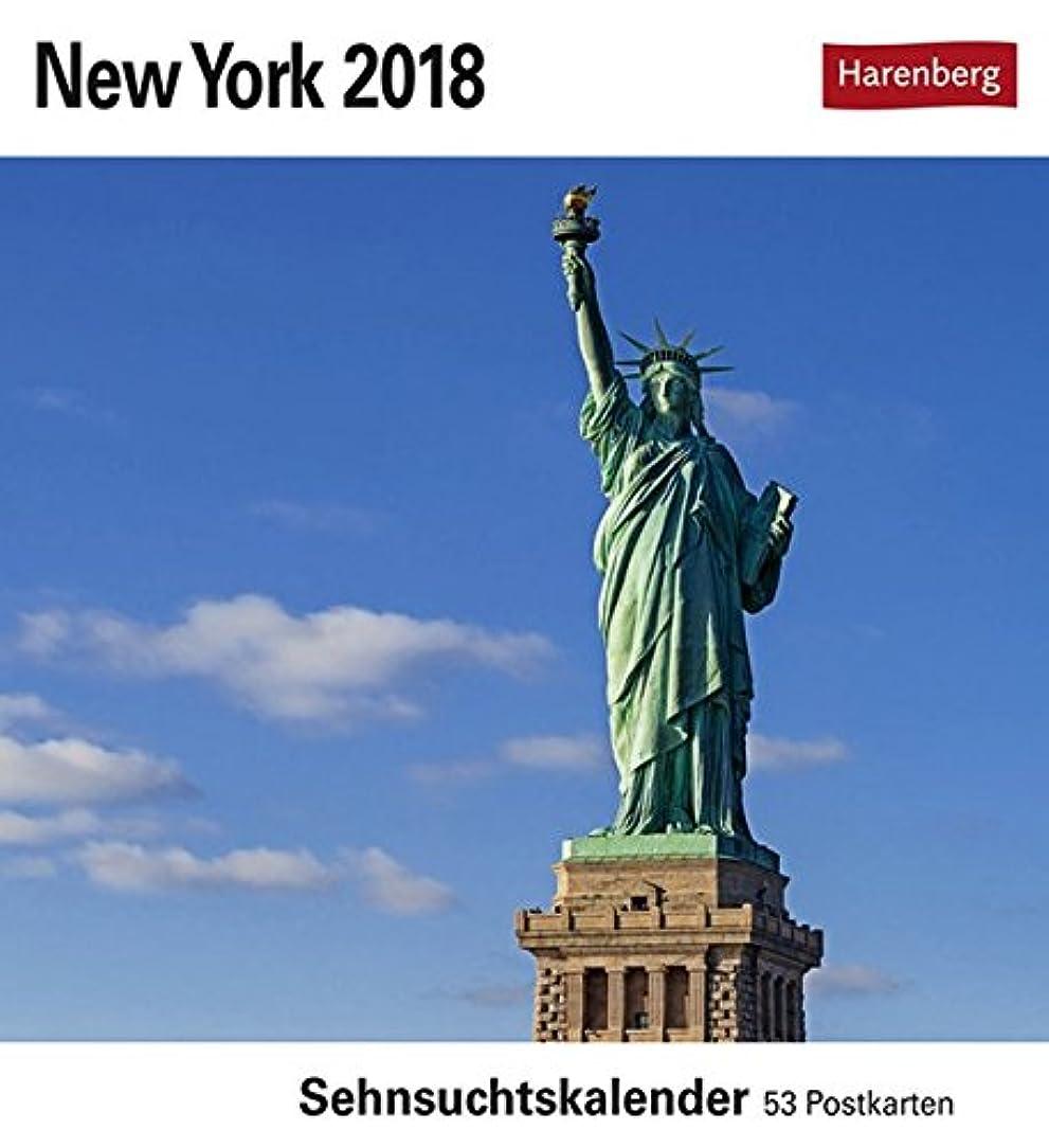 登録踏みつけ楽しいNew York 2018: Sehnsuchtskalender. 53 Postkarten