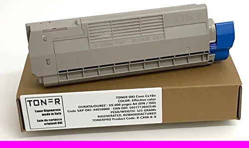 Toner OKI ES6412 - Magenta - 6.000 pagina's A4 (EIN/ISO) - OKI SAP CODE: 46507514 - Regenerated - Refurbished